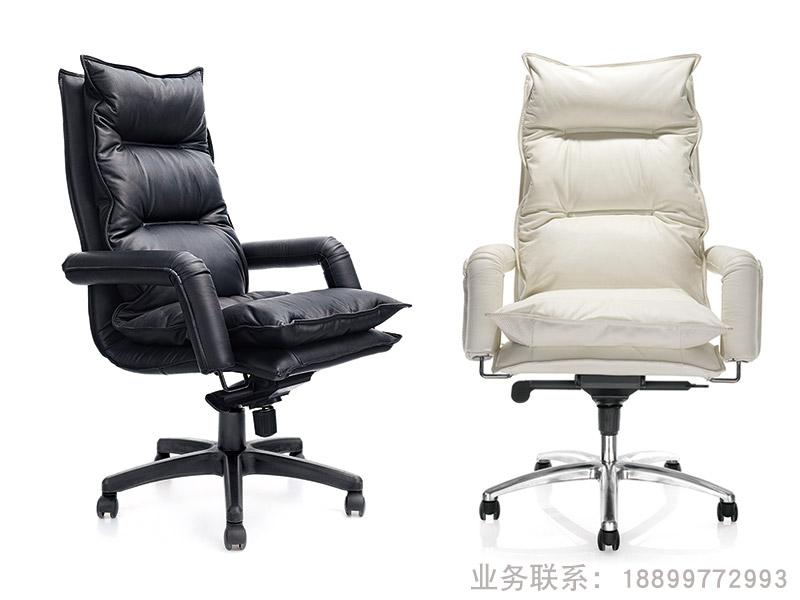 现代真皮老板椅